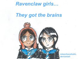 Ravenclaw Girls by misschocoholic