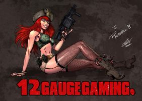 12 Gauge Gaming by BrunoCotic