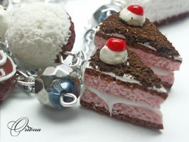 Bracelet 'Black Forest' 3 by OrionaJewelry