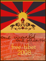 Free Tibet by labonnegrace