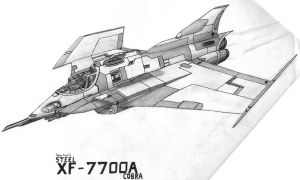 XF-7700 Steel Cobra Fighter by Blade-Shuriken