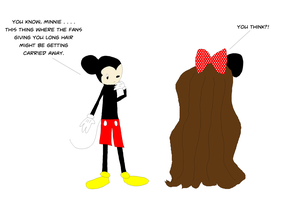 The Minnie Mouse Hair Trend by FluidGirl82
