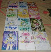 Sailor Moon Mangas :D by Puja723