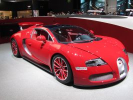 Bugatti on Red by SisMisBoy