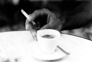 coffee and cigarette by sweetiefee