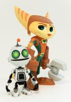 Ratchet + Clank Vinyl by CreatureBox