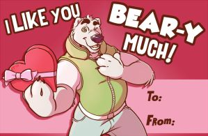 Bear-entines Day by KingdomBlade