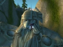 World of Warcraft - The Mountain King Statue by Gery850