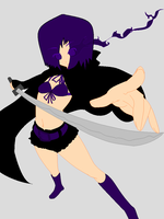 Updated OC Purple Rock Shooter by Arisa-Hasegawa916