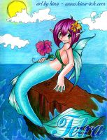 tetra as a mermaid by kina