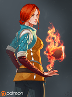 [P] Witcher 3: Triss by Shunkaku