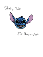 Colored verison of Stitch by koolkitty9