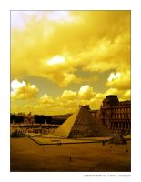 Yellow Louvre by Docca