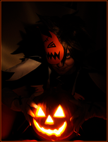 Sora the Pumpkin King by ShinraiFaith