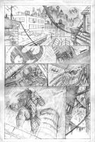 batman vs predator page 1 by Wes-StClaire