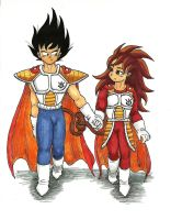 Request: Vegeta and Articha by shadesoflove