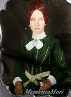 Victorian Ginger head lady by M3ment0M0ri