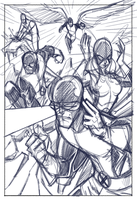 Classic X-Men (Rough Prelim) by Hodges-Art