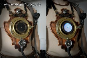 Steampunk timemachine for time travellers by steamworker