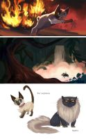 Cats and Swamps by OrcaOwl