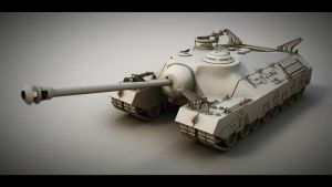 T95 Tank model by misket-nfeos
