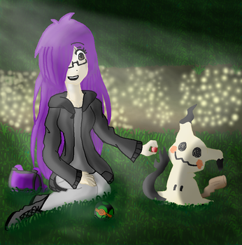 Meeting Mimikyu Digital by Two--Faced--Angel