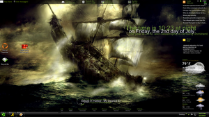 Rainmeter Color coded by Spewaged