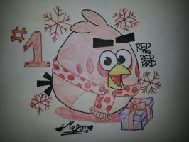12 Days of Angry Birds Christmas: Day 1 by MeganLovesAngryBirds