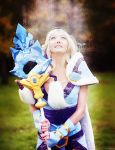Dota 2 Crystal Maiden -  frosty field by MilliganVick