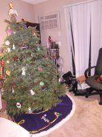 Tangled Tree Skirt in place by Lokotei
