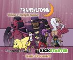 Transyltown Volume 2 Cover by ibroussardart