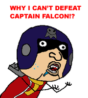 Blood Falcon -Y U NO- by RickWheeler