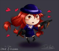 Lol: Chibi Miss Fortune by TsukiAhri