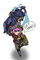 GET DUNKED! by wakeuplena