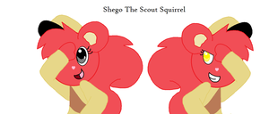 Shego The Scout Squirrel by HTFAdventure