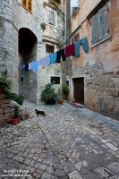 Trogir's town tiramola by Febo-theRealOne