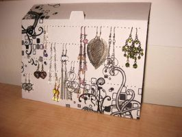 Earring Holder by Villacious