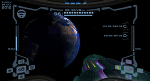 Metroid Prime Rainmeter 1366 by SXPanda