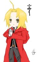 Chibi Edward Elric by SakiRee