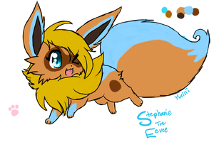 Stephanie the Eevee by FENNEKlNS