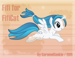 Fifi for Fificat by CaramelCookie
