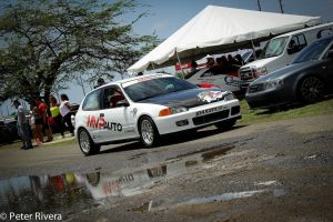 EG civic getting ready for the race by Caramanos2000