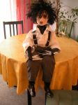 Edward Scissorhands Doll by Vulkanette
