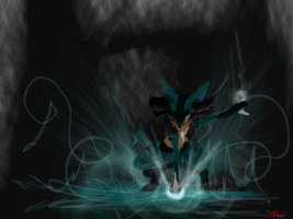AWESOME Lucario by Hakues-sparkle-dream