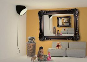 Anuja baby in multi-photo frames by rajNdra