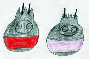 The Royal Cocoon Fakemon by RedPanda7