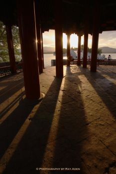 The shadow in Summer Palace by rayaden