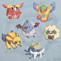 pokemon black team poofs by edface