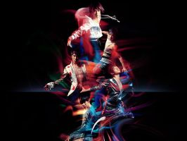 Tohoshinki - MIROTIC by wanderjunior