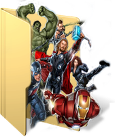 Avengers Folder Icon by GreedLin